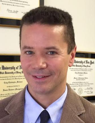 Craig Markson, Ed.D. : Director (2016 - 2019)