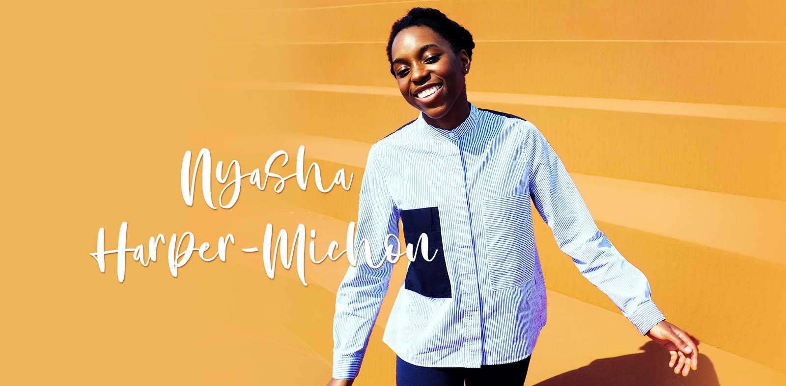 Nyasha Harper-Michon photo by Philippe Sarfati