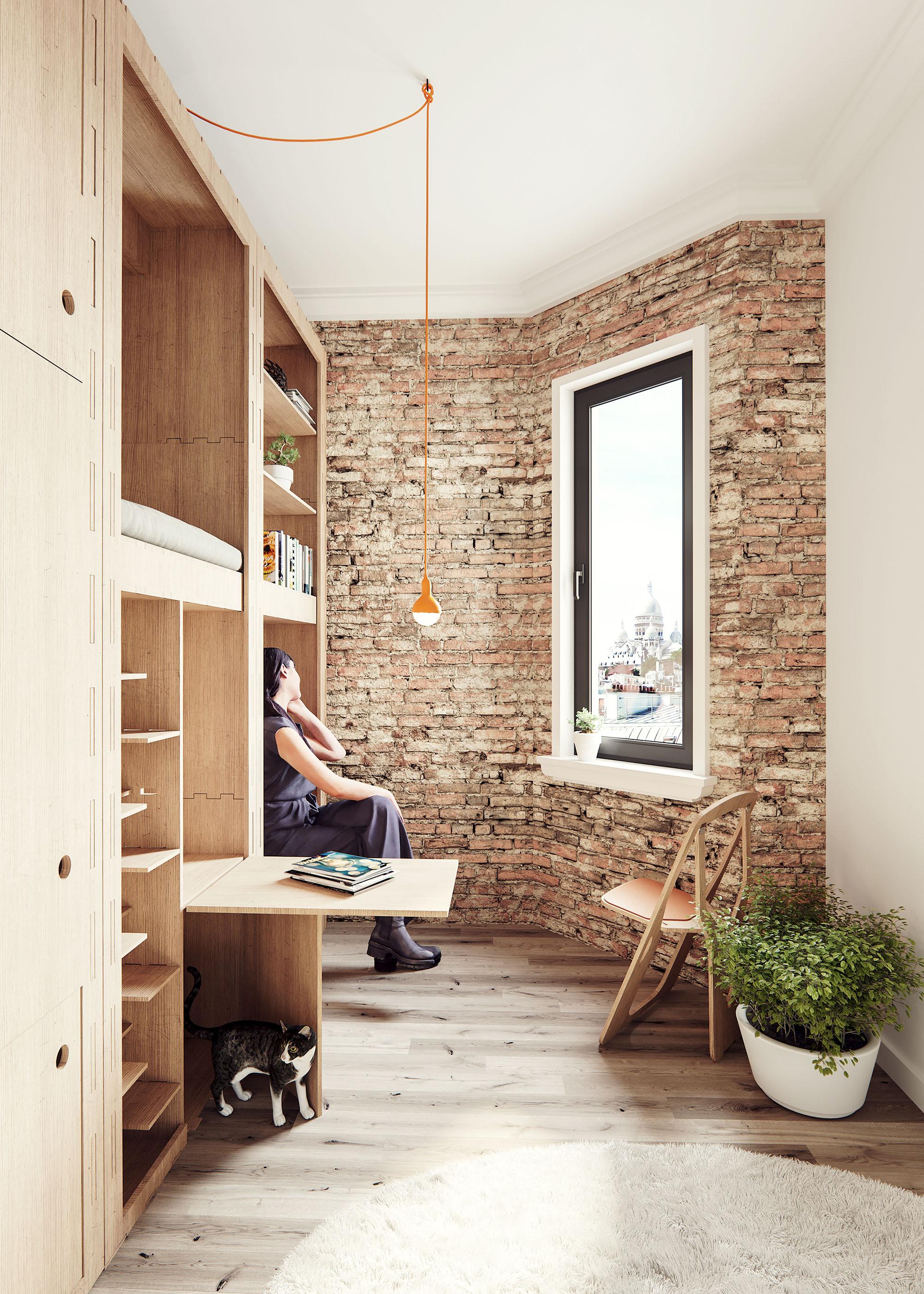 KumbaPod, by Nyasha Harper-Michon, Plywood - Paris
