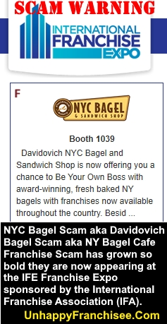 NYC Davidovich Bagel Scam