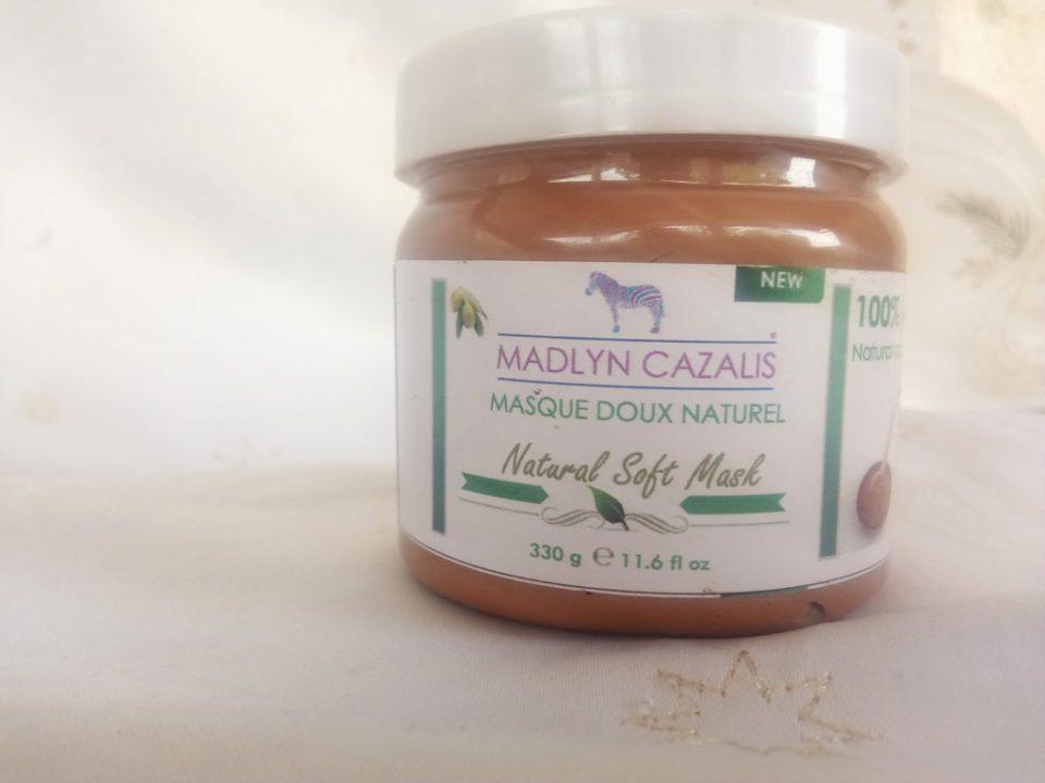 j'ai testé le masque doux naturel de madlyn cazalis