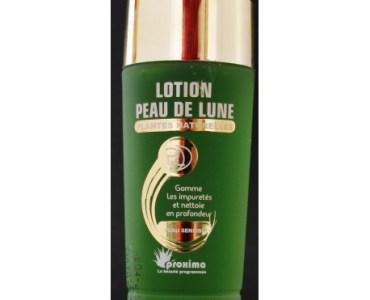 revue sur l'utilisation de la lotion peau de lune