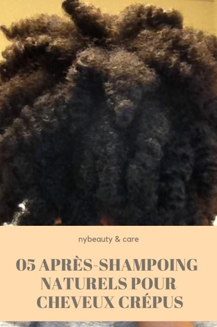 des après shampoings facile à faire hydratants et émelants pour cheveux crépus secs