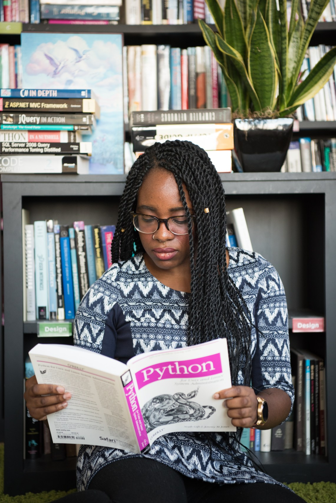 la lecture est une arme redoutable pour une femme