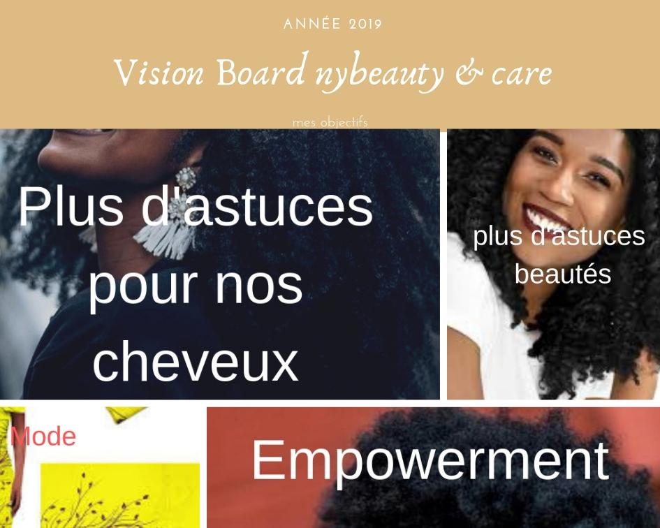 le vision est très important pour réaliser ses objectifs tout au long de l'année