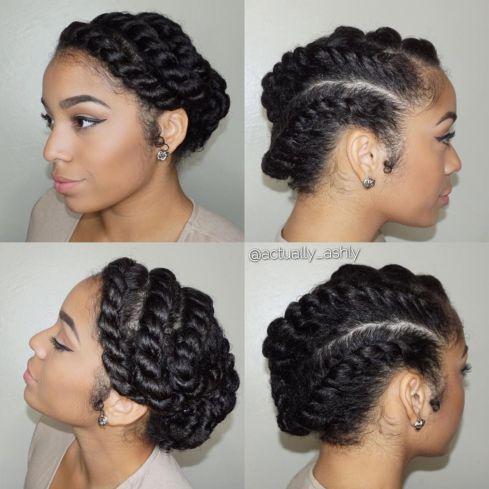 coiffures afro sans rajouts