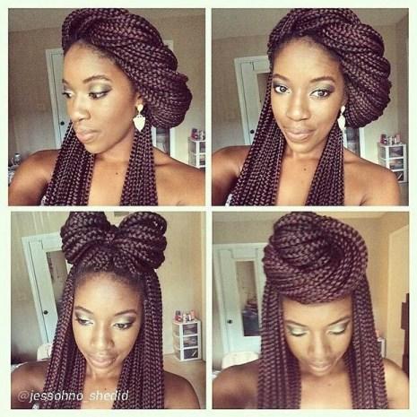 les plus beaux box braids