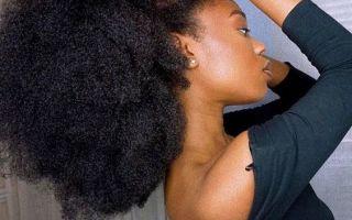 la méthode LCOC sur les cheveux crépus épais