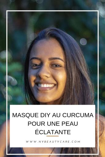 masques diy au curcuma pour une peau sans tache et sans acné