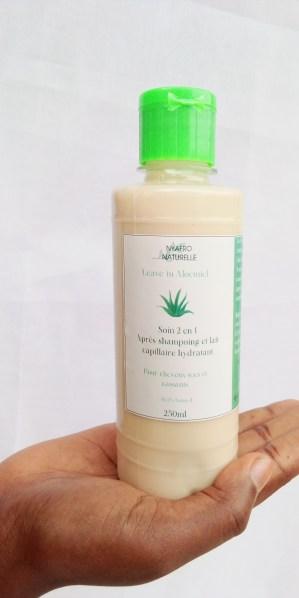 leave-in, soin 2 en 1 après shampoing et lait capillaire