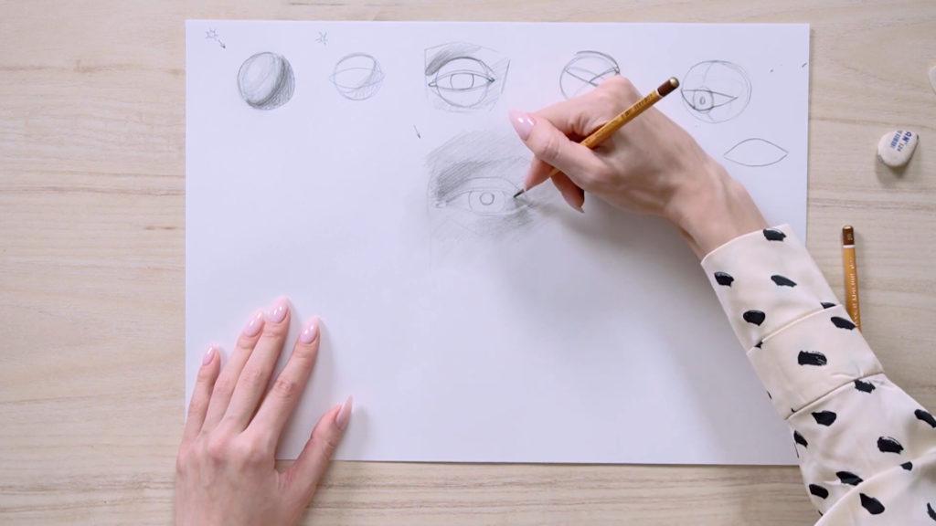 چگونه برای جلب چشم با مداد Phaood - مرحله 9 - عکس