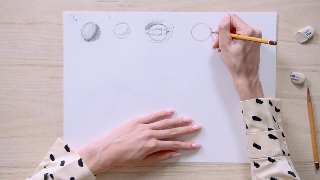 چگونه برای جلب چشم یک مداد phased - مرحله 2 - عکس