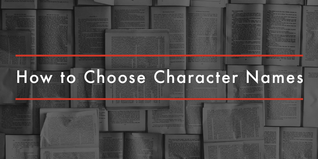 how to choose character