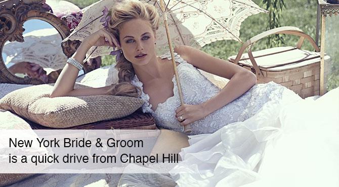 Wedding dresses bridal shop near chapel hill nc