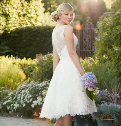 Short and Sassy Wedding Gowns Equals Freedom With Flair! - New York ...