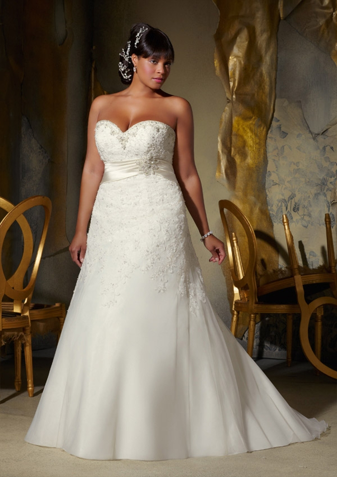 Plus Size Perfection: Wedding Dresses at NYB&G of Raleigh