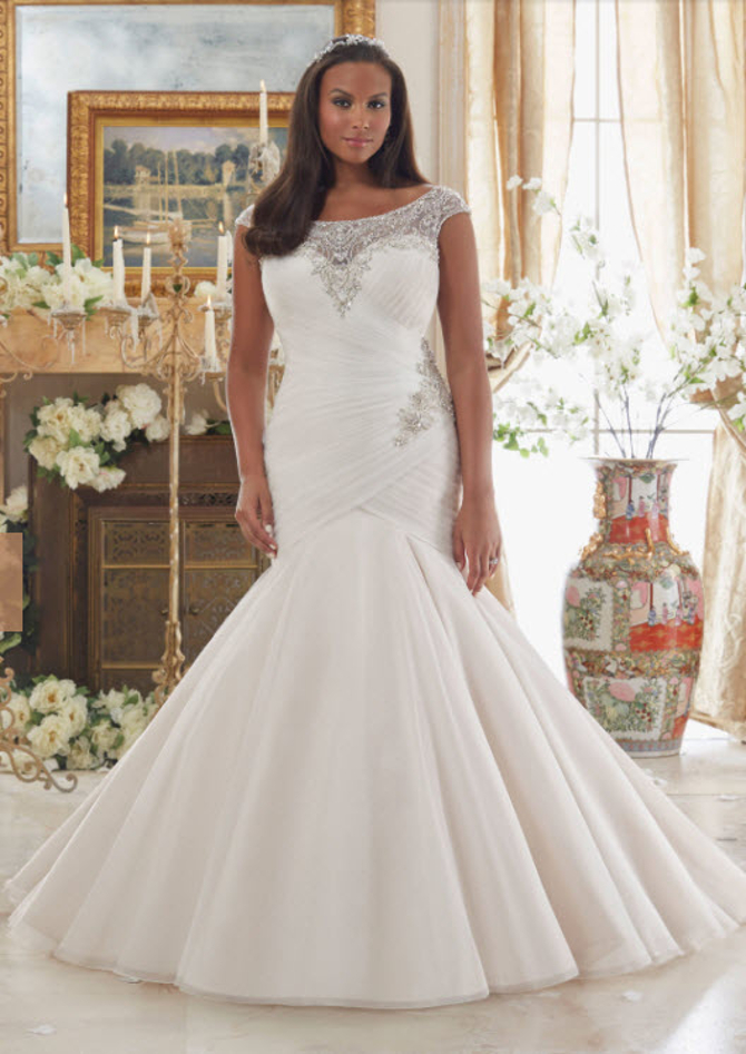 Your Wedding Dress Neckline Can Flatter or Flop Your Look