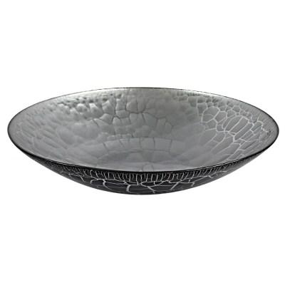 Croco fat svart/silver
