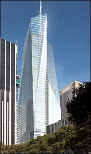 New York Architecture Images Bank of America Tower 1