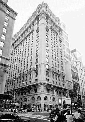 New York Architecture Images StRegis Sheraton Hotel