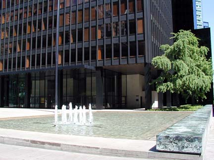 New York Architecture Images THE SEAGRAM BUILDING