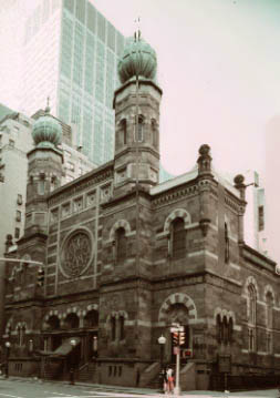 New York Architecture Images Central Synagogue