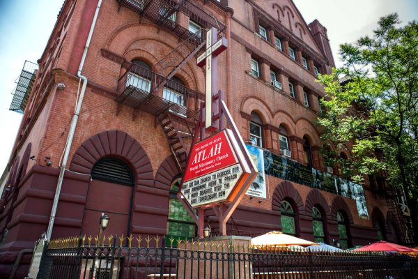 L G B T  Church Seeks to Buy Building of Harlem Church With