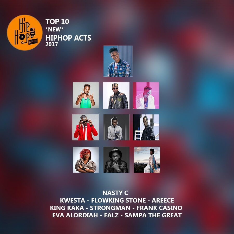 Strongman Nasty Others Named In Top 10 New Hip Hop Acts Of 2017