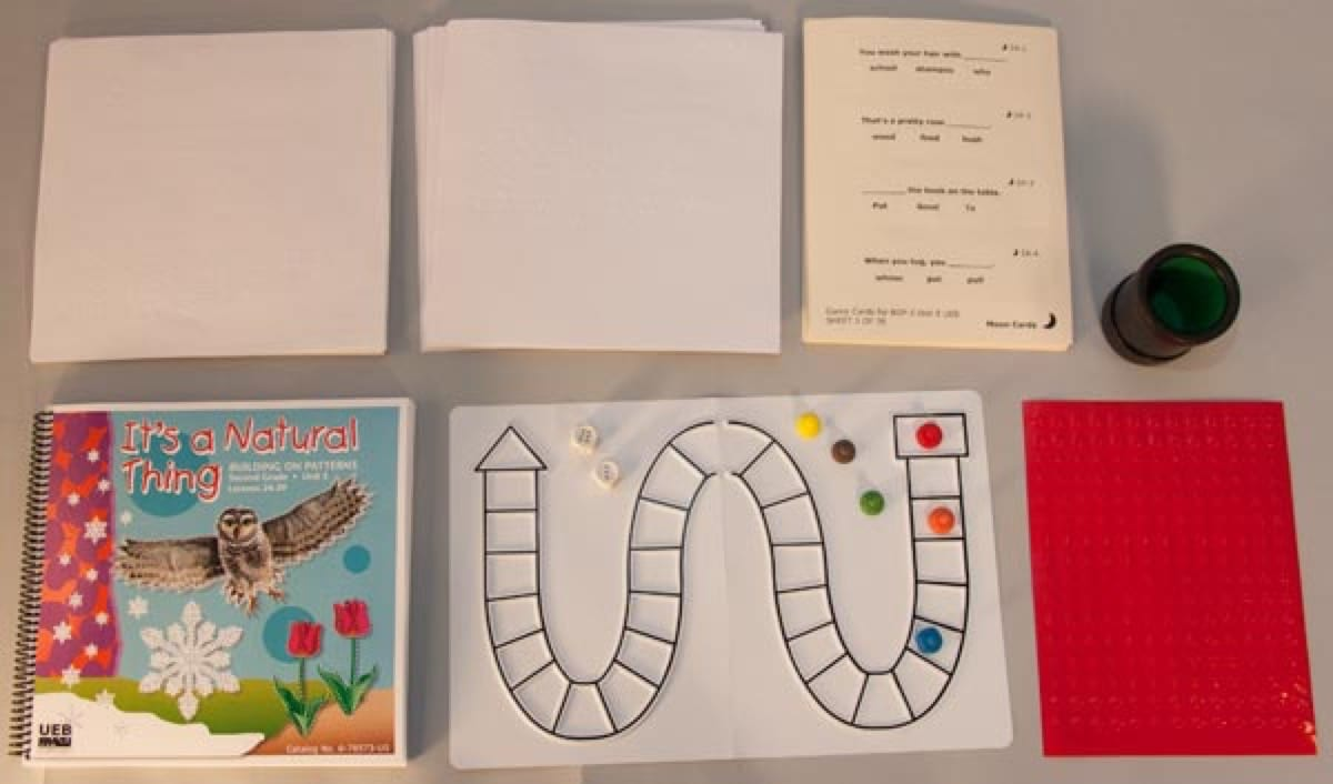 hight resolution of Building on Patterns: Primary Braille Literacy Program: Second Grade: Unit  5 Worksheets Pack - UEB   American Printing House