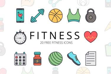 Free Fitness Vector Icon Set ~ Creativetacos