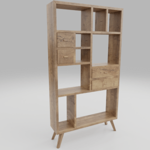 Dark Wood Book Shelf Imeshh