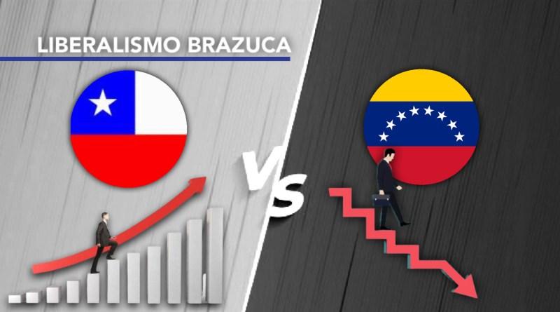 O que explica as diferenças na trajetória do Chile e da Venezuela?