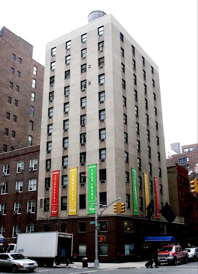Seafarers And International House  New York City