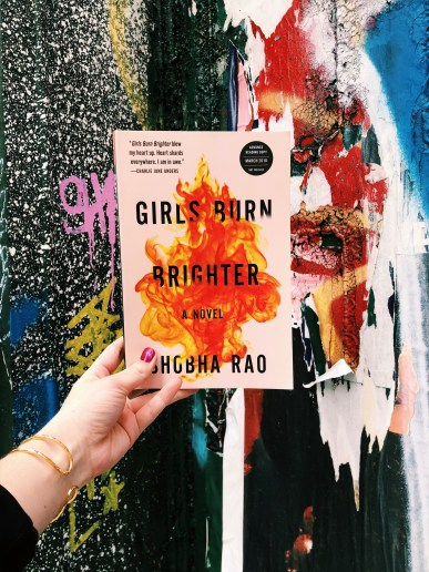 Girls Burn Brighter by Shoba Rao