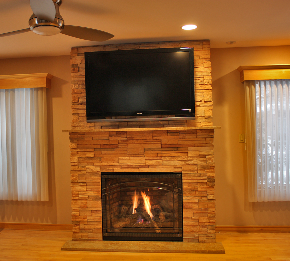 gas fireplace  NYC Fireplaces  Outdoor Kitchens