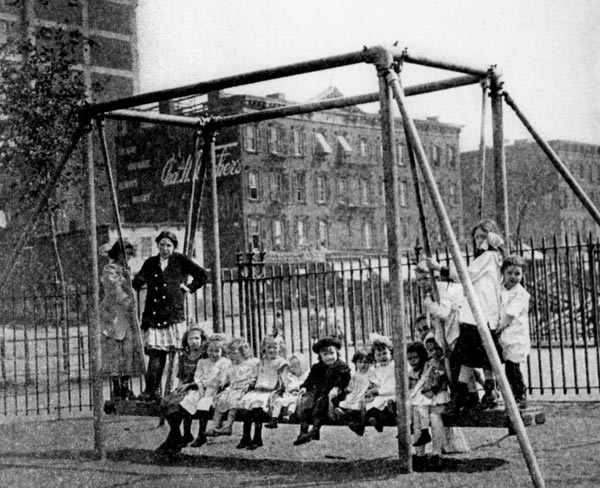 History of Playgrounds in Parks  NYC Parks