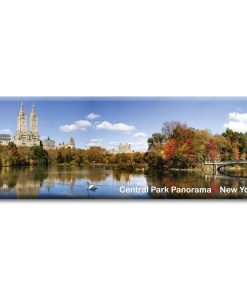 Central Park West Panorama New York Photo Magnet