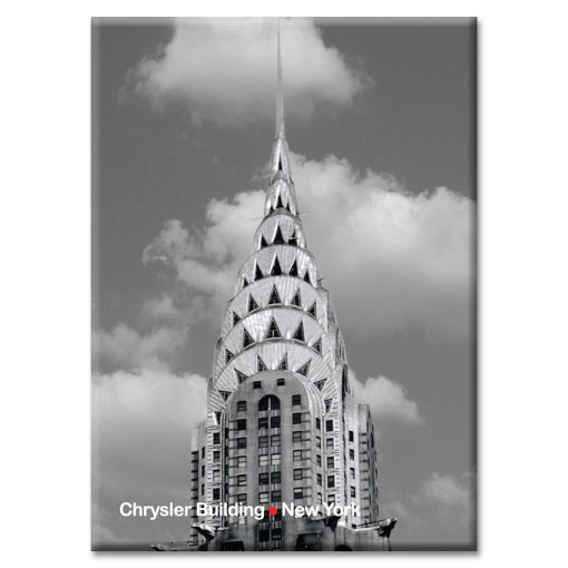 Chrysler Building New York Photo Magnet from NY Christmas Gifts
