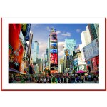 Times Square – Handmade Photo Card