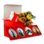 New York City Landmarks – Christmas Ornaments Gift Set
