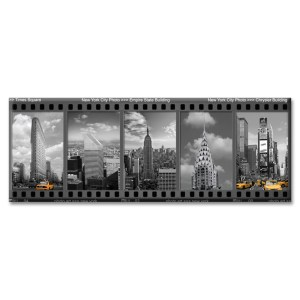 New York Landmarks Filmstrip Photo Magnet from NY Christmas Gifts