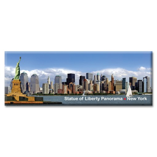 Statue of Liberty and Downtown Manhattan Panorama from NY Christmas Gifts