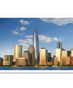 1WTC Freedom Tower Downtown New York Art Prints Poster MP1103 Color