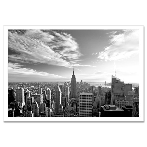 Empire State Building New York Art Print Poster MP-1026