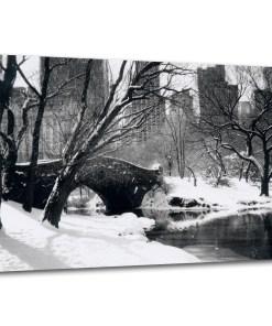 Love Bridge Winter 16x24 Canvas MP-1006