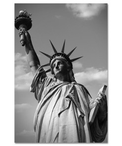 Statue of Liberty Black and White Art Print MP-1170