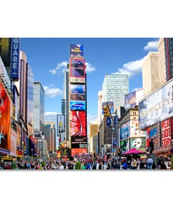 Times Square Panorama Art Print MP-1229