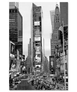 Times Square South New York BW Art Print MP-1032