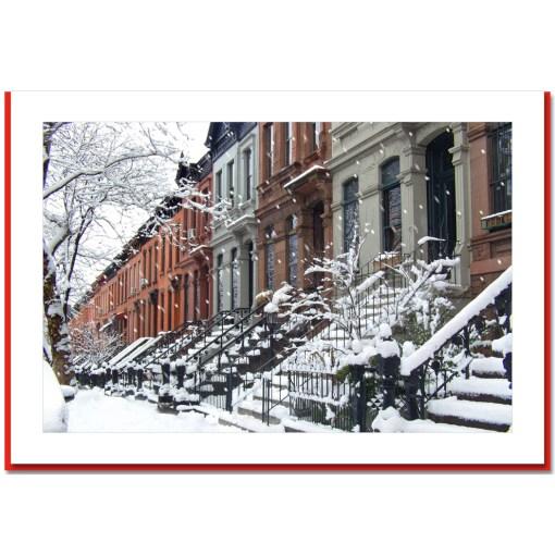 Brownstone Winter Handmade Photo Card HPC2755