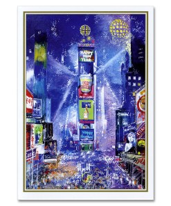 New Year Celebration on Times Square NY Christmas Cards BGC112